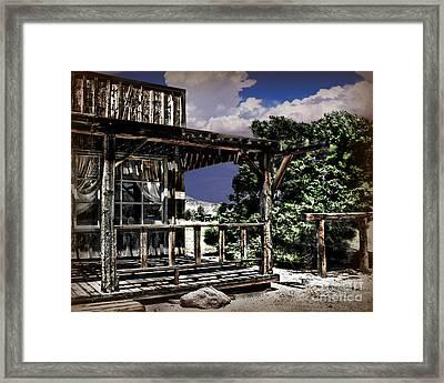 Pioneer House Framed Print by Danuta Bennett