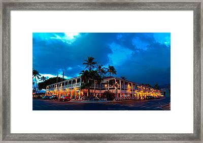 Pioneer Inn Framed Print