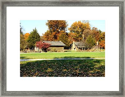 Pioneer Village 1 Framed Print by Franklin Conour