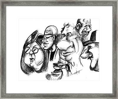 Pip-obji Framed Print
