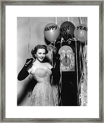 Piper Laurie, 1952 Framed Print