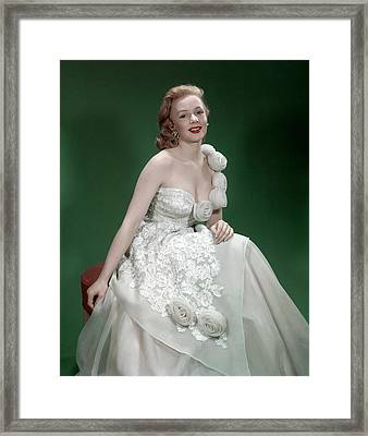 Piper Laurie, 1953 Framed Print by Everett