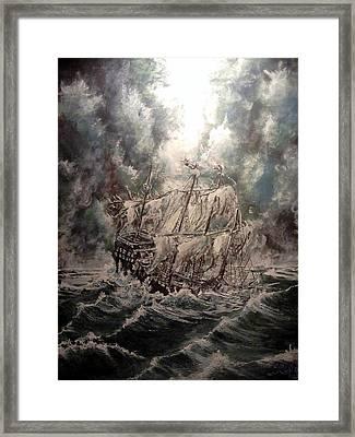 Pirate Islands 2 Framed Print by Robert Tarrant