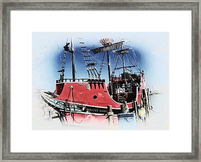Pirates Ransom - Clearwater Florida Framed Print by Bill Cannon