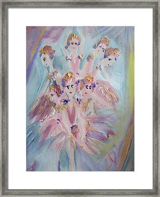 Pirouette Framed Print by Judith Desrosiers