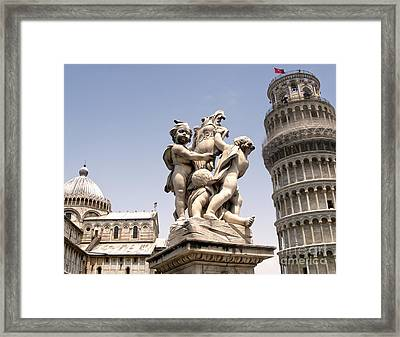 Pisa Italy - Piazza Dei Miracoli - 02 Framed Print by Gregory Dyer
