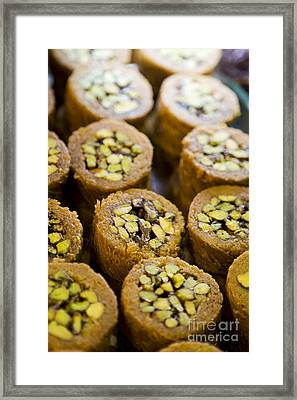Framed Print featuring the photograph Pistachio  by Leslie Leda