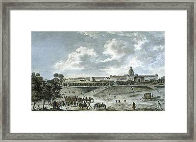 Pitie-salpetriere Hospital, Paris Framed Print by Cci Archives