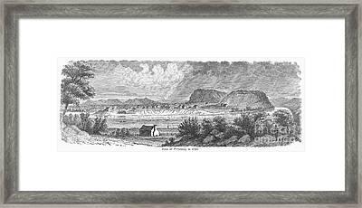 Pittsburgh, 1790 Framed Print by Granger