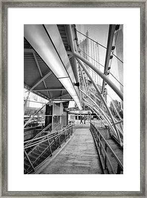 Pittsburgh Lines 2 Framed Print by Emmanuel Panagiotakis
