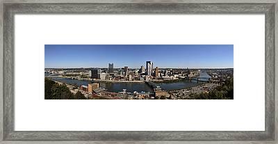 Pittsburgh Panoramic Framed Print