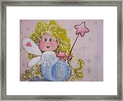 Pixie Dust Framed Print by Leslie Manley