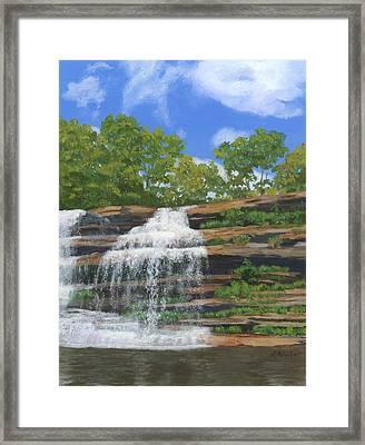 Pixley Falls Framed Print by Lynne Reichhart