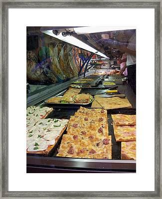Pizza Pizza Framed Print
