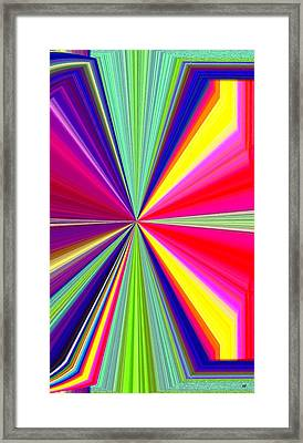 Pizzazz 38 Framed Print by Will Borden