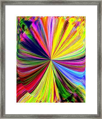 Pizzazz 39 Framed Print by Will Borden