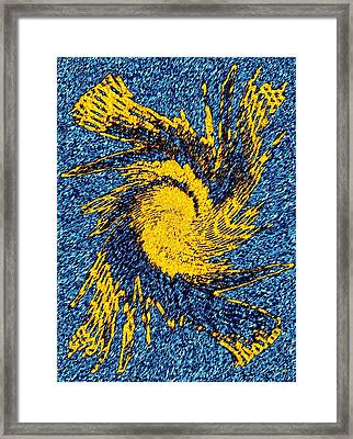 Pizzazz 40 Framed Print by Will Borden