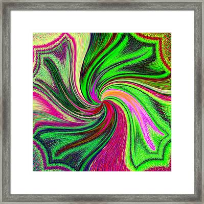 Pizzazz 41 Framed Print by Will Borden