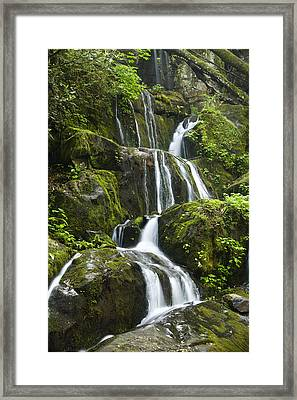 Place Of A Thousand Drips Framed Print by Andrew Soundarajan