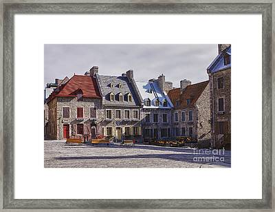 Framed Print featuring the photograph Place Royale by Eunice Gibb