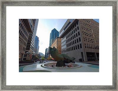 Framed Print featuring the photograph Place Ville Marie by John Schneider