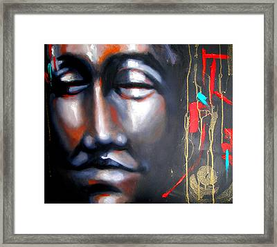 Places Of Peace-fond Thoughts Framed Print by Susi Franco