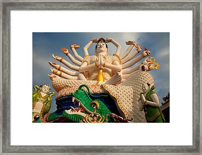 Plai Laem Buddha Framed Print by Adrian Evans