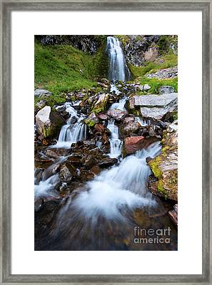 Plaikni Falls Framed Print