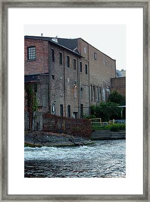 Framed Print featuring the photograph Plainwell Paper by Penny Hunt