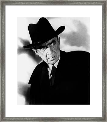 Plan 9 From Outer Space, Bela Lugosi Framed Print by Everett