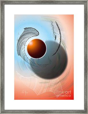 Planetarium Framed Print by Leo Symon
