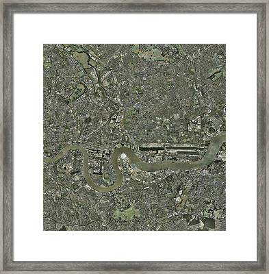 Planned London Olympics Site Framed Print