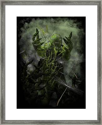 Plant Man Cometh Framed Print by Michael Knight