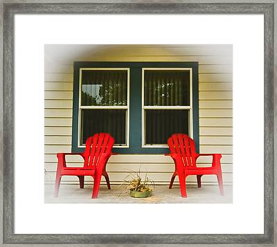 Plant Plus Two Framed Print by Dale Stillman