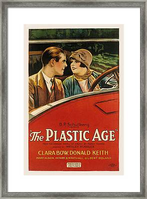 Plastic Age, The, Donald Keith, Clara Framed Print by Everett