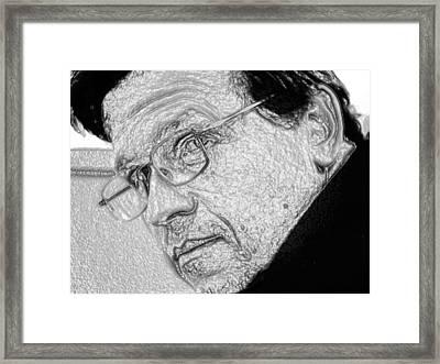 Plastic Man Framed Print by Robert Margetts