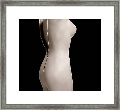 Plastic Surgery Framed Print