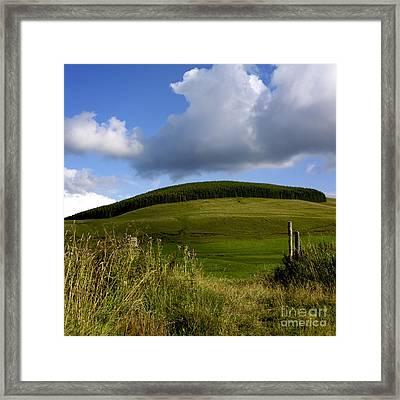 Plateau Of Cezallier. Auvergne. France Framed Print by Bernard Jaubert