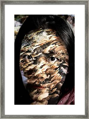 Plates Of Woe Framed Print by Christopher Gaston