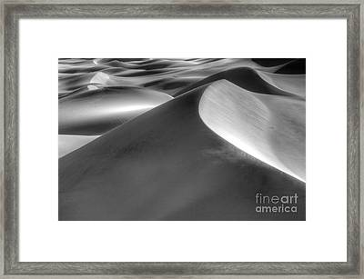 Platinum Dunes Framed Print by Bob Christopher
