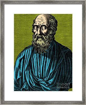 Plato, Ancient Greek Philosopher Framed Print