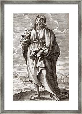 Plato, Greek Philosopher Framed Print