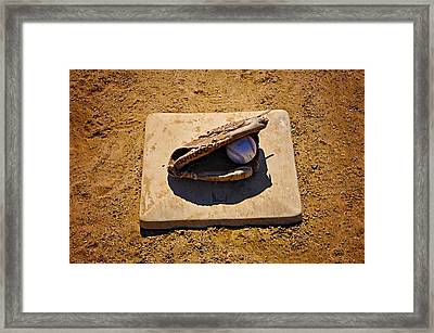 Play Ball Framed Print by Bill Cannon