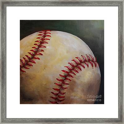Play Ball No. 2 Framed Print by Kristine Kainer