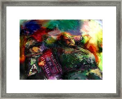 Play For Me Framed Print by James Thomas