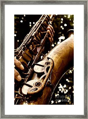 Play For Me Framed Print by Lisa Williams