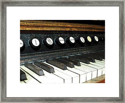 Play It Again Framed Print