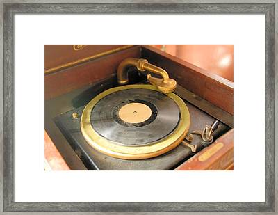 Play Me Again Bob Framed Print by