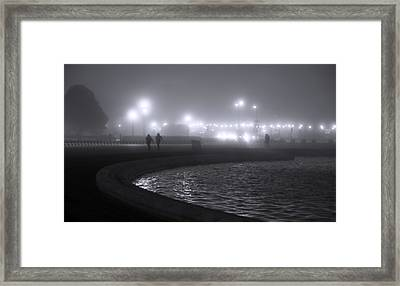 Play Misty For Me Framed Print by Sheryl Thomas