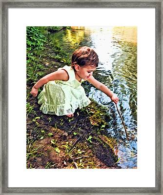 Play Time Framed Print by James Steele